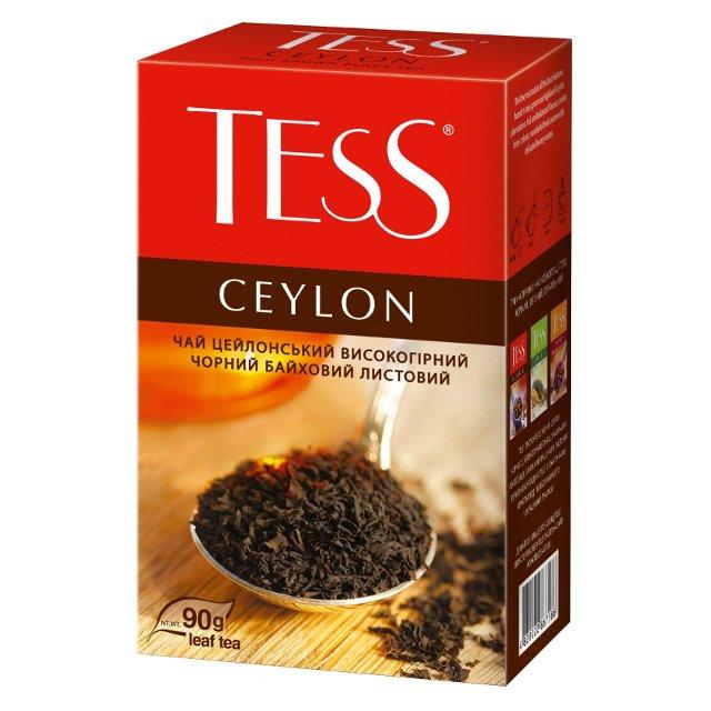 чай тесс новинки