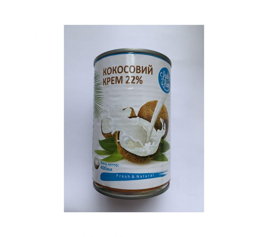 Кокосовый крем 22%