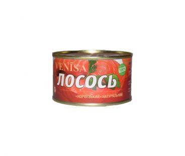 Консервы ВИНИСА ТМ Лосось натуральный  240 гр