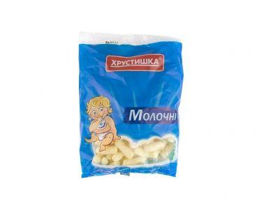 Доставка продуктов на дом в Днепре Хрустишка ТМ Палочки кукурузные молочные 60 гр