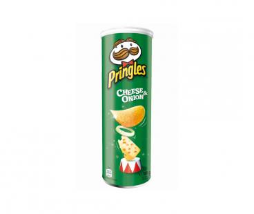 Pringles Чипсы со вкусом сметаны и лука 165г