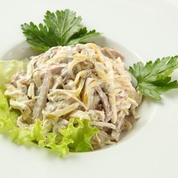 Полесский салат