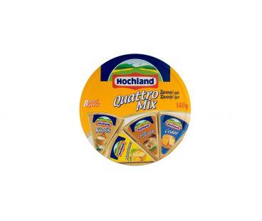 Hochland Сыр плавленный  quattro mix 140г 44% (хохланд)
