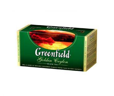 Чай черный Чай черный Гринфилд Greenfield Golden Ceylon - Цейлон в пакетиках 25 шт