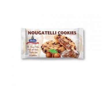Merba Печенье Merba с шоколадами и орехами Nougatelli 44г