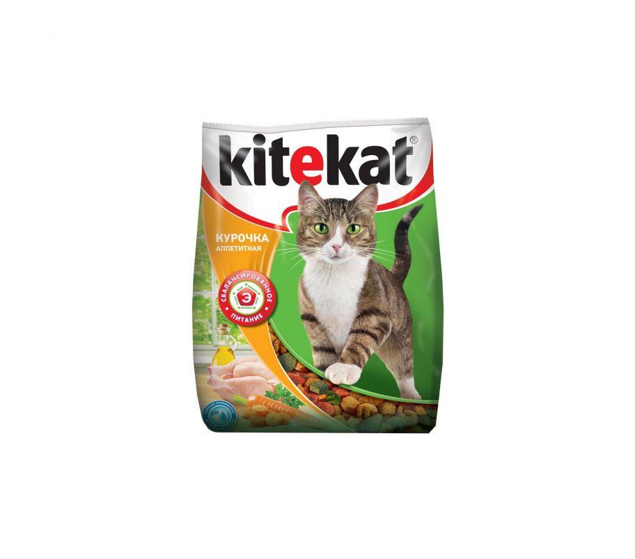 Kitekat Корм для котов Курица-овощи сухой 1,8кг