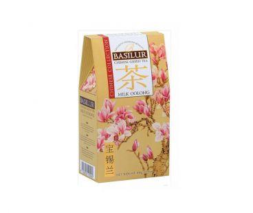 Чай Basilur Чай зеленый Базилур Basilur Китайская коллекция Молочный улун картон 100 г