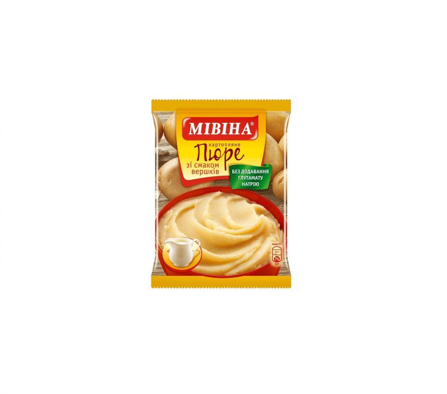 Мивина Пюре картофельное сливки 37гр