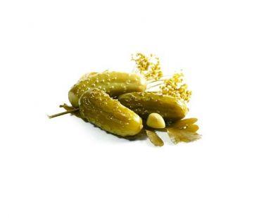Соления Огурцы соленые 1 кг (ведро)