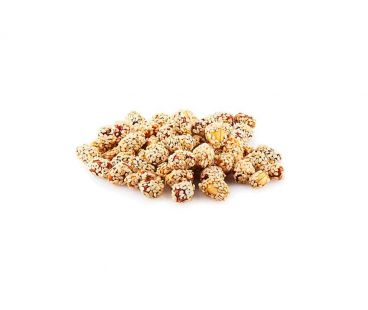 Орехи ШБ Арахис в кунжуте (коробка 1 кг)