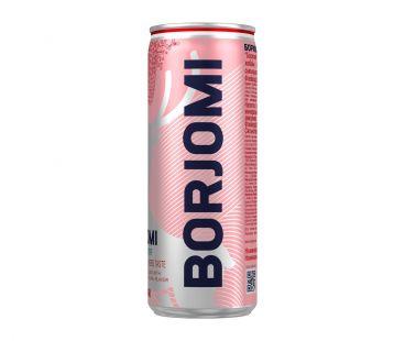 Borjomi Боржоми Flavored water земляника-травы 0,33л