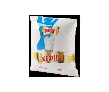 Кисломолочные продукты Злагода Кефир 1%, 450г