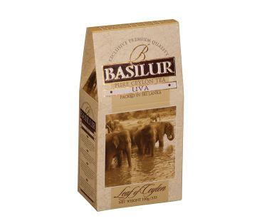 Чай черный Базилур Basilur Лист Цейлона Ува  100 гр