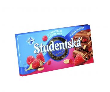 ШБ Шоколад Studentska Малина 180 гр