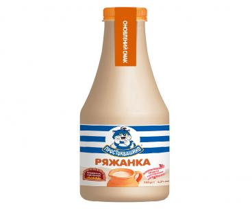 Кисломолочные продукты Простоквашино Ряженка 3,2%, 750г