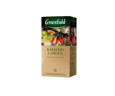 Чай черный пакетированный Гринфилд Greenfield Barberry Garden Барбарис 25x1,5 г