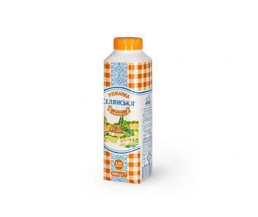 Кисломолочные продукты Селянское ряженка 4% 450г