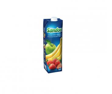 SANDORA Банан-Яблоко-Клубника 0.95л