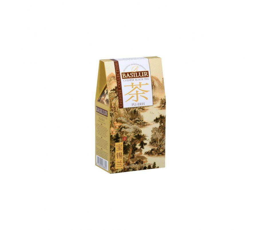 Чай черный Базилур Basilur Китайская коллекция Пу-эр картон 100 г