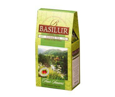 Чай зеленый Базилур Basilur Четыре сезона Летний картон 100 г