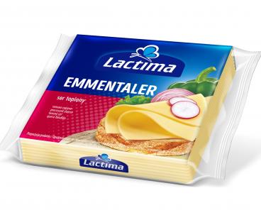 Сыр Лактима тост Эмменталер 36,2% 130г