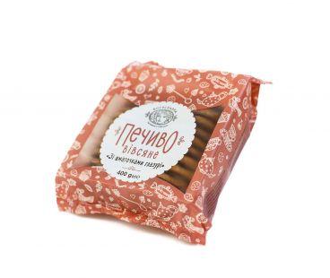 Богуславна Печенье овсяное с кусочками глазури 400г