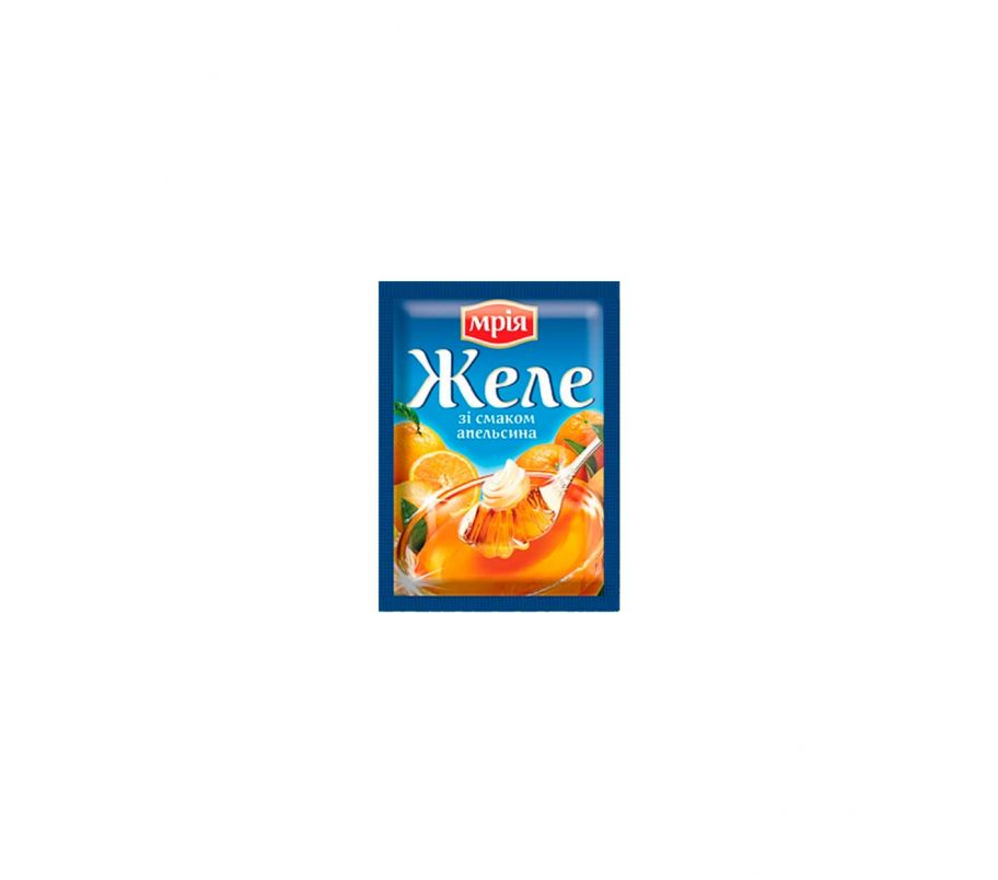 Мрия Желе со вкусом апельсина 90г