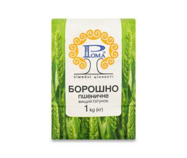 РОМА Мука пшеничная в/с 1кг
