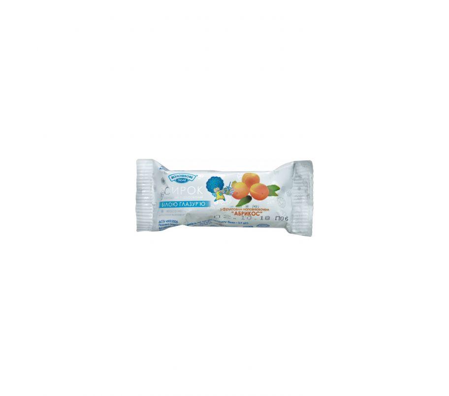 Волошкове Поле Сырок в белой глазури абрикос 26% 36г
