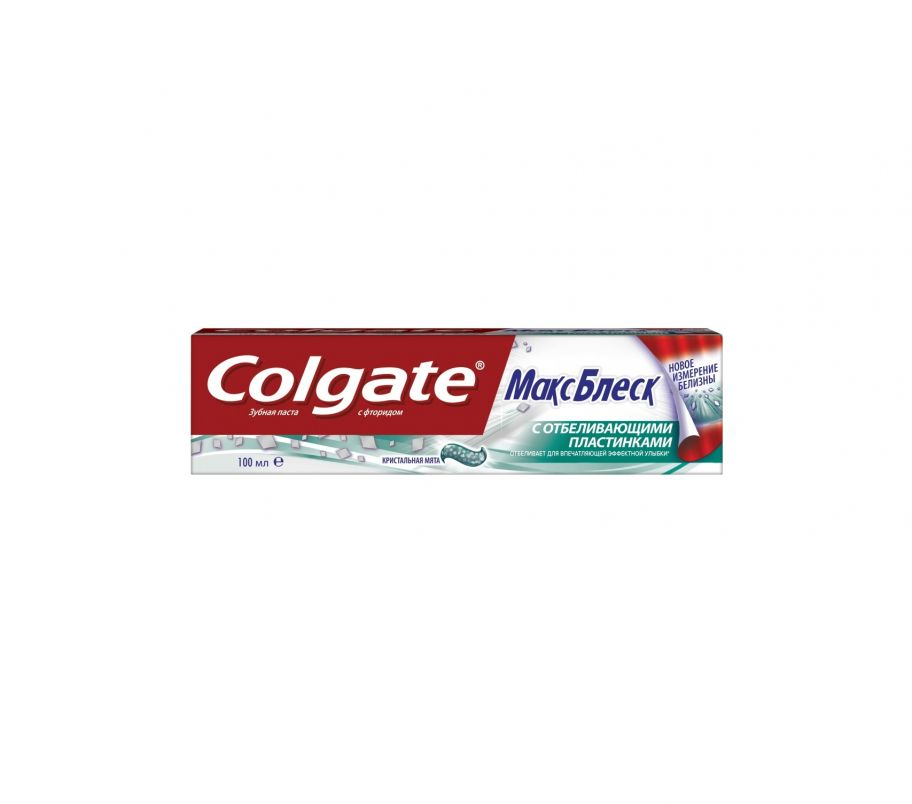 Зубная паста Colgate MAX БЛЕСК 100мл