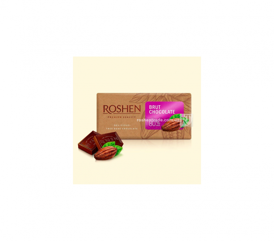 Roshen Шоколад Brut 80%