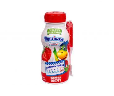 Детская молочная продукция Растишка Йогурт Клубника 1.5% пэт 185г