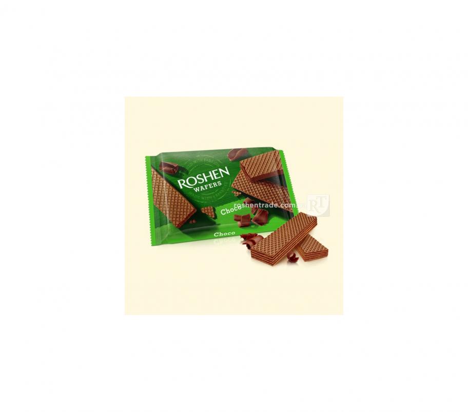 Roshen Wafers вафли шоколад 72г