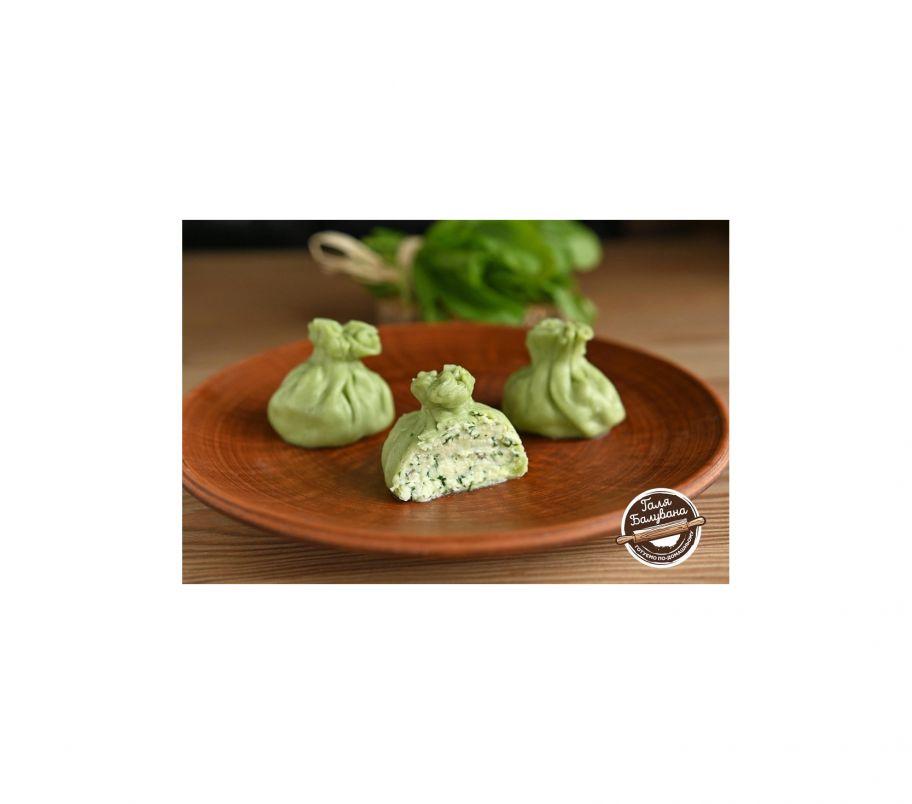 Галя Балувана Хинкали шпинатные с сыром