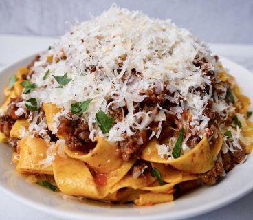 Рецепт приготовления паппарделле болоньезе