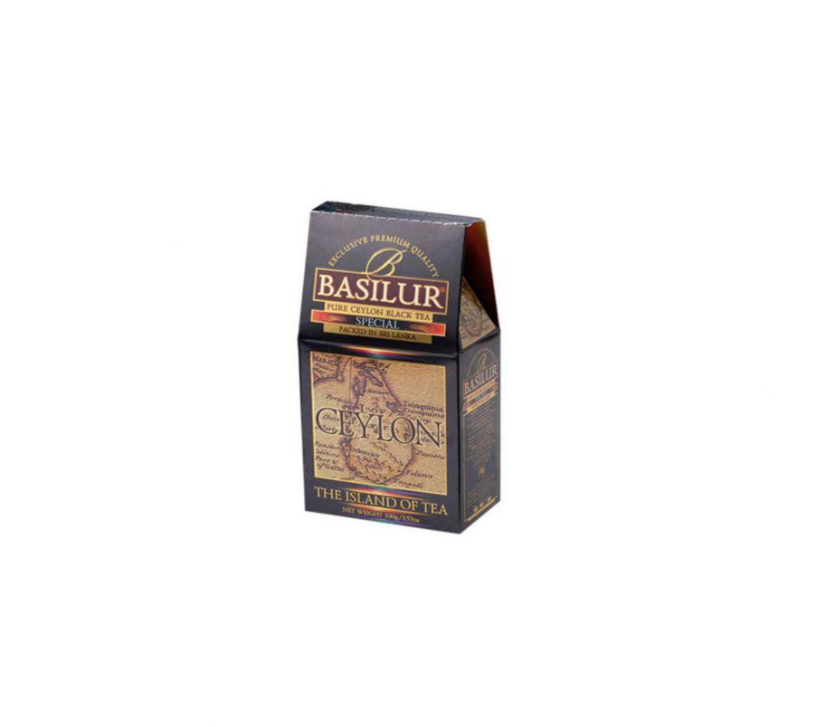 Чай черный Базилур Basilur Чайный остров Особый картон 100 г