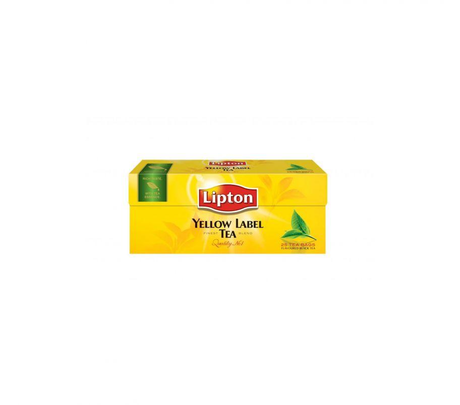 Lipton чай черный х25