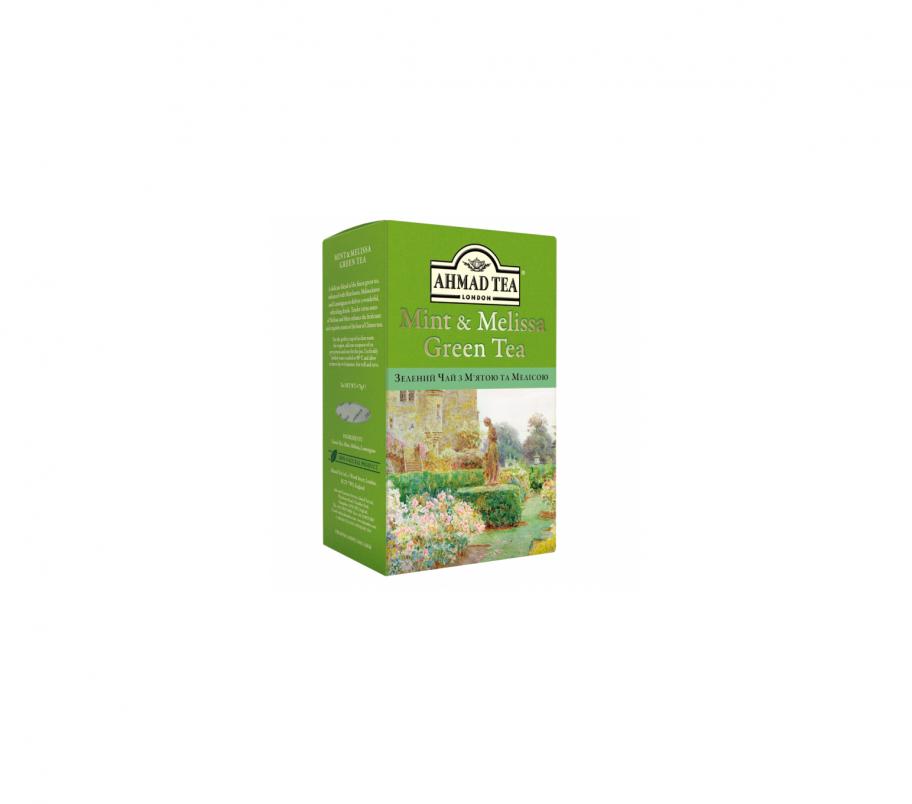 Ahmad tea Чай зеленый с мятой и мелиссой 75г
