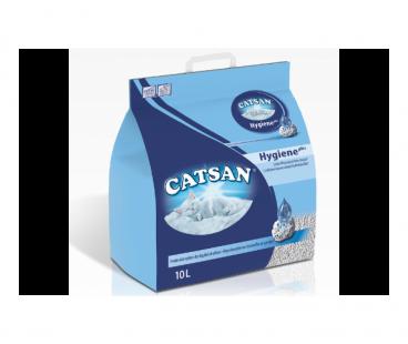 Наполнители для туалетов Catsan Наполнитель гигиенический 10л