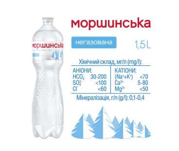 Моршинская 1.5 не.газ ПЭТ