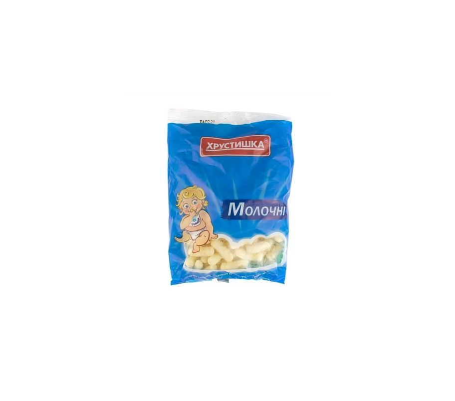 Хрустишка ТМ Палочки кукурузные молочные 60 гр
