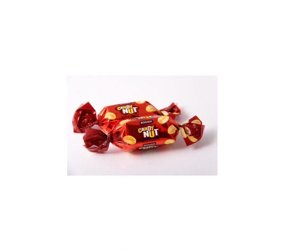 Roshen CandyNut мягк карамель с арахисом