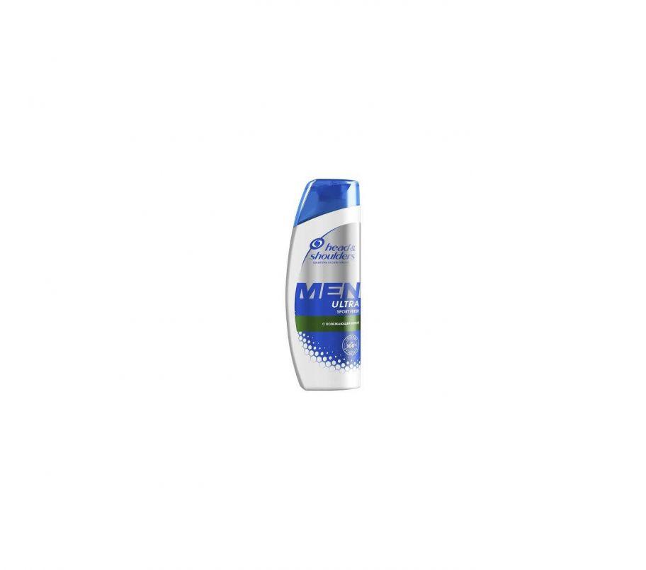 H&S Шампунь MEN ULTRA sport fresh с освежающей мятой 400мл