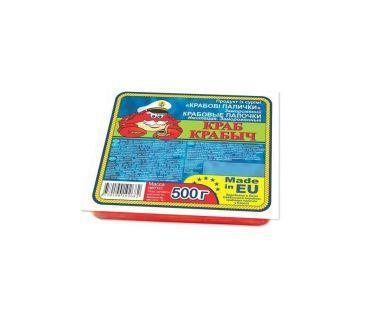 Замороженные креветки, крабовые палочки VICI Палочки крабовые Краб Крабыч 500г