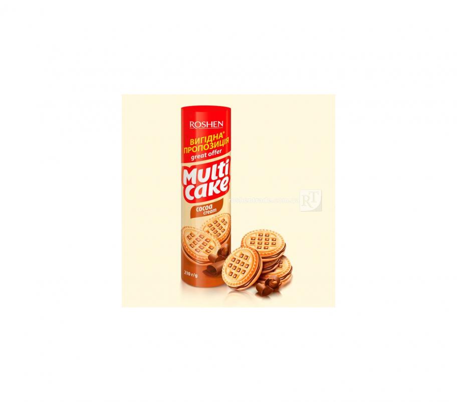 Rochen Multicake печенье-сендвич какао 210г