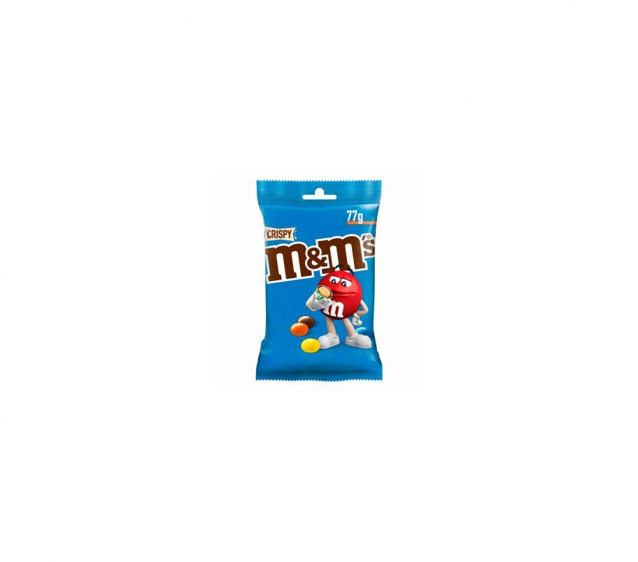 M&M`s Драже с рисовыми шариками в молочн шоколаде 77г