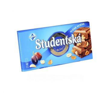 ШБ Шоколад Studentska Изюм+ арахис молочный 180 гр