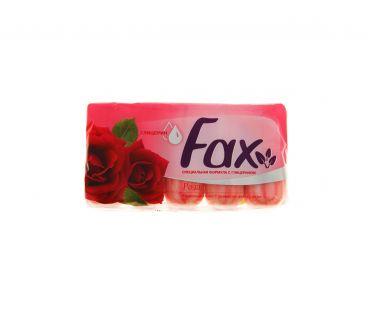 FAX мыло 5*70гр с глицерином и цветком розы