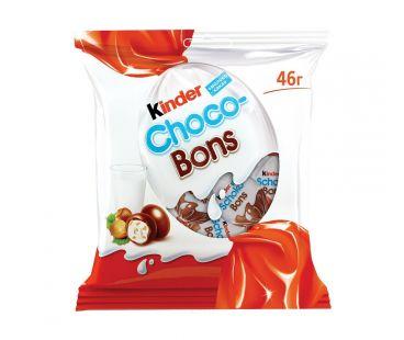 Драже Kinder Конфеты Schoko-bons из молочного шоколада 46г