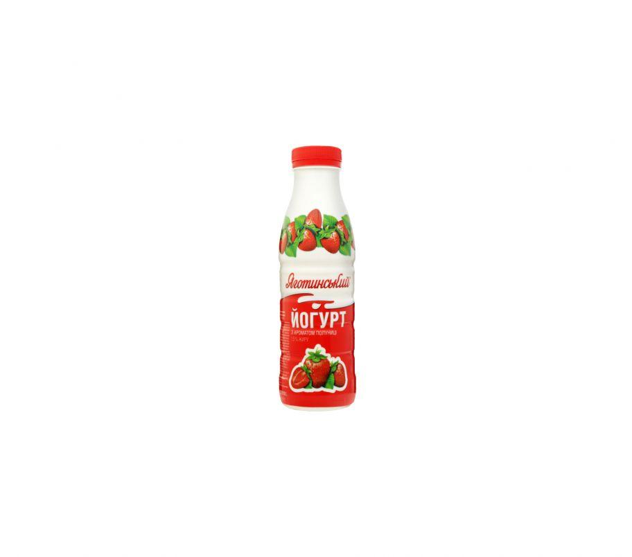 Яготинское йогурт клубника 1,5% 0,27 бут
